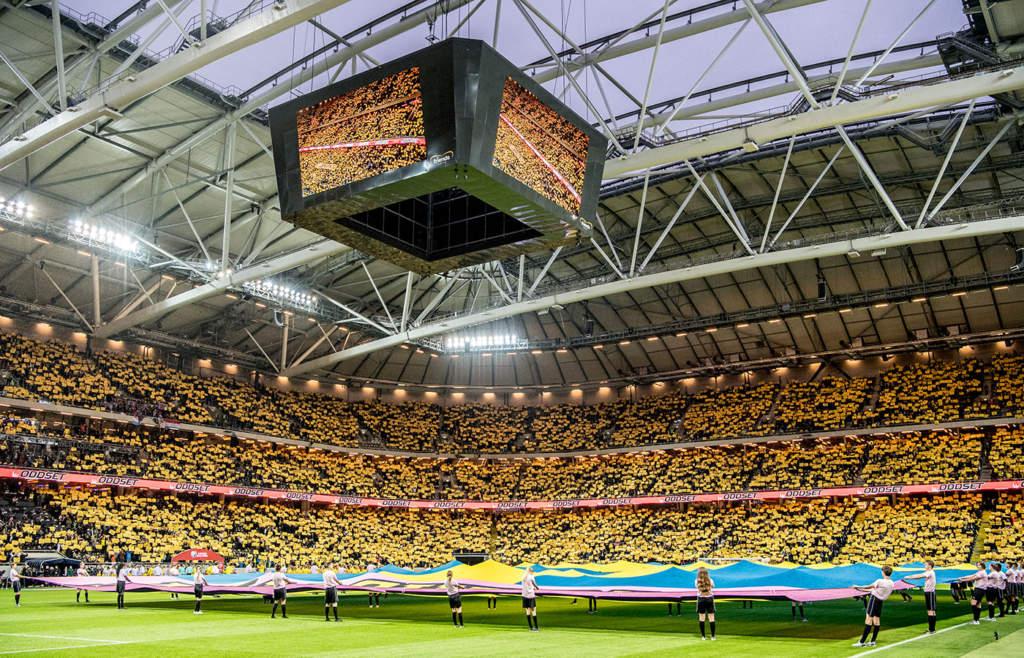 Matchen mot Luxemburg blev historisk – aldrig tidigare har så många sett Blågult på Friends. Över 50 000 åskådare kom till matchen.